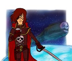 Captain Harlock by LeSam