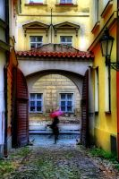 Prague street by tomsumartin