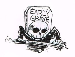 Early Grave Art by SoulRipper85