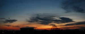 Pano at sunset by geographu