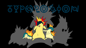 Typhlosion Background by JCast639