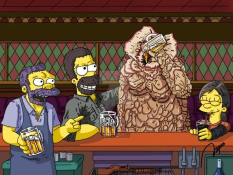 The Last of Springfield - Bloater Barney by Raqos