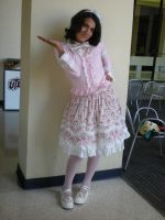 Me... in full lolita by HimeLoliKawaii