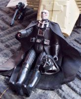 Darth Vader with helmet removed by mousedroid-hoojib