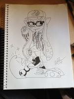 Kee the Inkling by GingerBaribuu