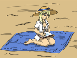 For the KH Summer Contest: Namine by Dark-Momento-Mori