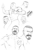 Yuri Boyka by PatrickBrown