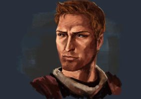 alistair screenshot speedpaint by hollyoakhill