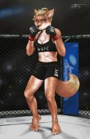 Ronda Rousey by Voltfang