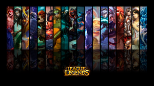 League of Legends Wallpaper by ViciousBlue