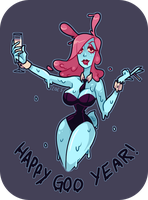 Happy Goo Year by ZoeStanleyArts