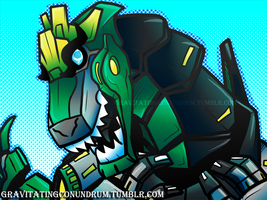 RID Grimlock by GravitatingConundrum