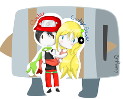 Cave Story: Curly, Quote, Balrog by The-Bish-Of-Hyrule
