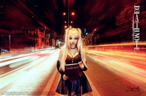 Misa Amane: Highway to Death by IreneAstral