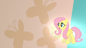 Fluttershy Wallpaper by RDbrony16