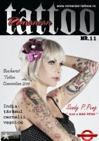 Tattoo Magazine: romanian tattoo news nr.11 by shaddow3333