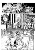 Italian comic page by pant
