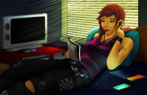 Day Off by Lazy-a-Ile