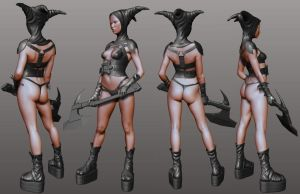 Girl executioner 01 by 3eof