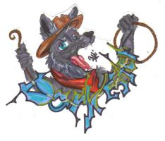 Darklester badge PTC by Wildloverwithwolfs