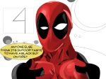 Deadpool responds to the FANTASTIC FOUR trailer by ProjectCornDog