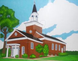 FGM Church commission by wetcanvas