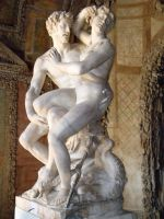 Lovers in Boboli by Kyriash