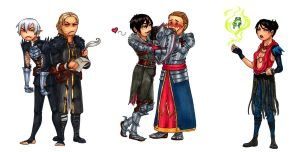 Just some Dragon Age love by Ddriana