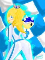 Rosalina: Blue Shell Beauty :Colors 3D: by Xero-J