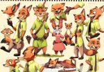 Zoo Topia sketch by inubiko