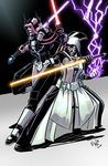 Sith Sisters - OctoberSale Commish by EryckWebbGraphics