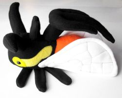 Cyphonia trifida plush by WeirdBugLady