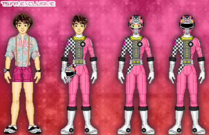 PRGPX: Pink Ranger by TerenceTheTerrible