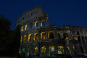 Colosseum at Night by McFit