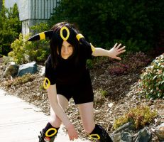 A Wild UMBREON Appears by AnyaPanda