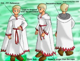 White Mage Costume Concept by Gyrick