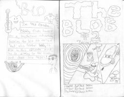 The Blob Number 2 Preview by davids-sketchbook
