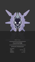 Cloyster by WEAPONIX