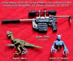 Turok Models Groupshot by kramwartap