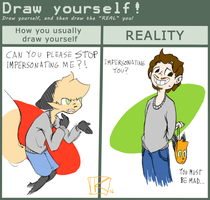 Draw Yourself Meme-thing by Kay950