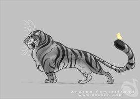 Quick design: chubby tyger by Noukah