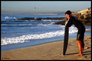 Sizing Up The Surf by shutterbugmom