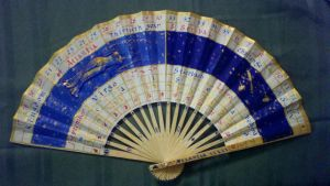 Tres Heures Folding Fan by LadyArwynn16