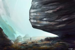 Rock study by FelFortune