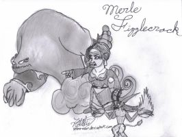Merle and her Demons by SekerAsar