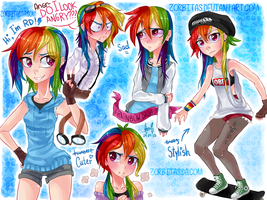 Human-RainbowDash-Thing by Zorbitas