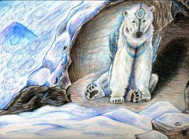 Shelter from the Blizzard by animalartist16