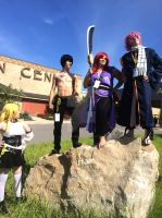 FT Cosplay - Team Natsu by ChaosBlast06