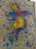 Parrot/Dragon by Remarin