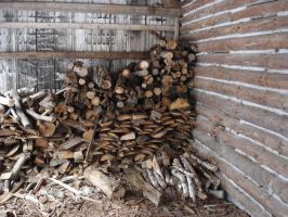 Inspiring Pile of Wood by racehorse87-stock